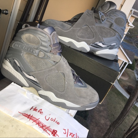 068682401e8bf Jordan Shoes | 8s Cool Greys Size10 Deadstock | Poshmark